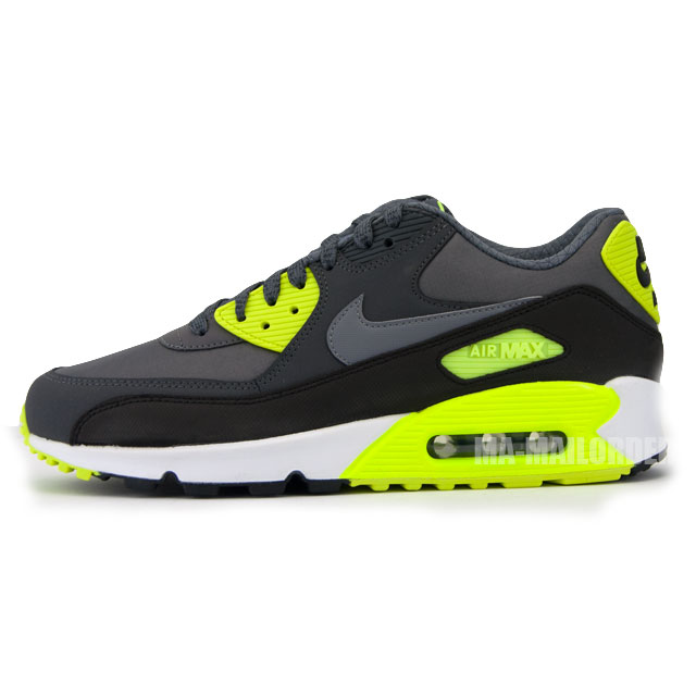 Nike Air Max 1 Essential Grau Gelb