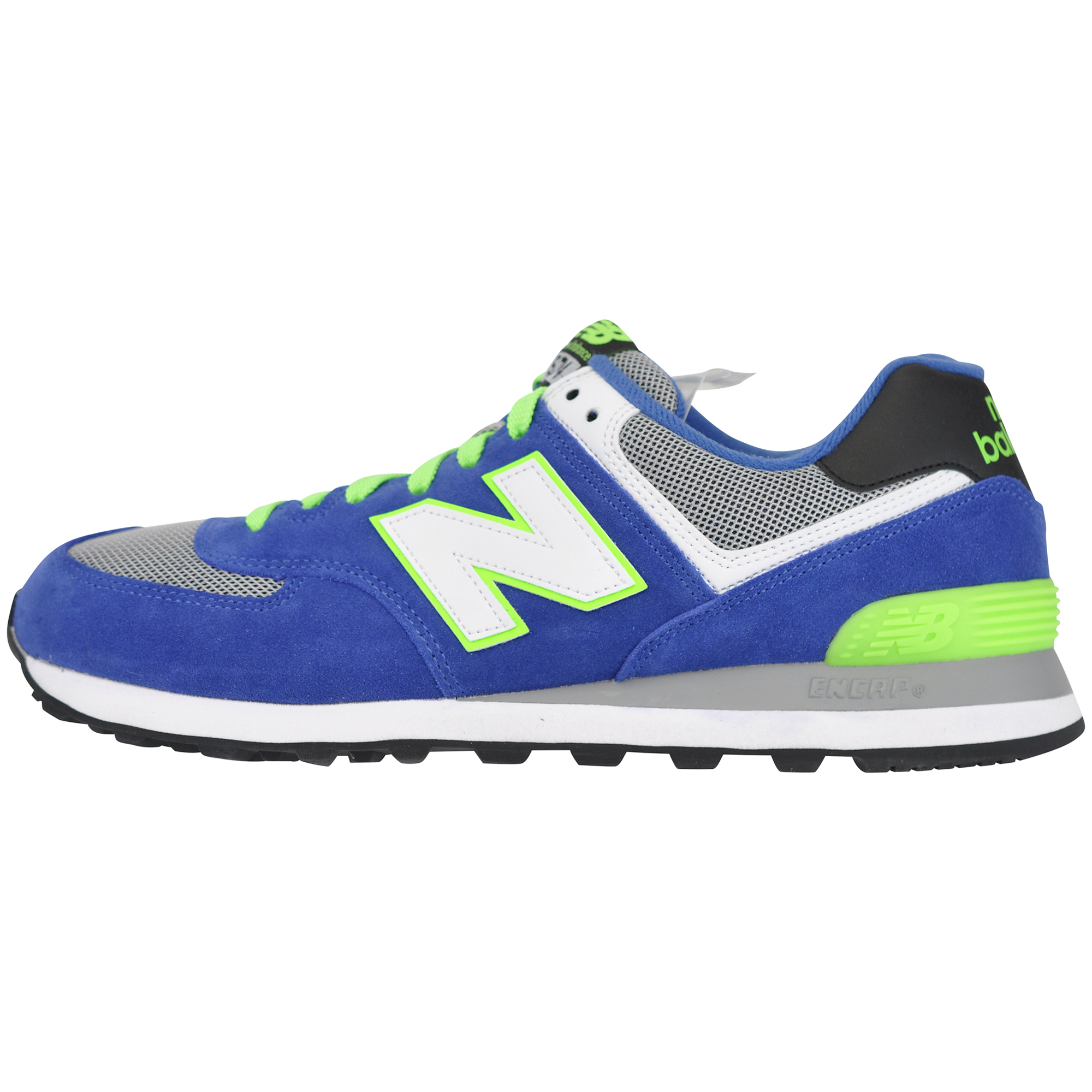 new balance ml574 blue/orange ml574bo