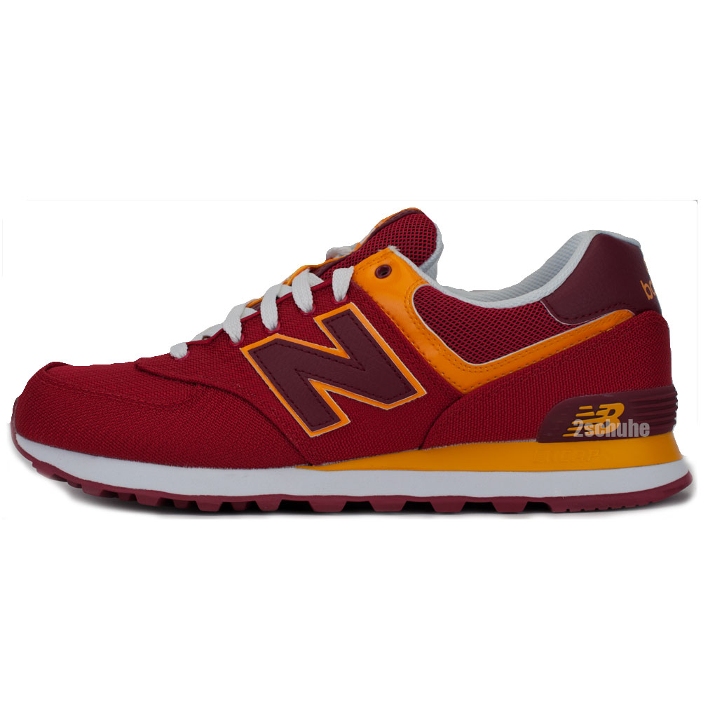 New Balance Ml574 D Ppn Sneaker Herren (Rot / Orange)