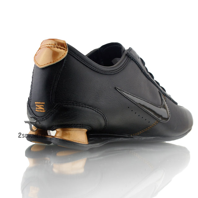 Nike Shox Rivalry Schwarz Gold